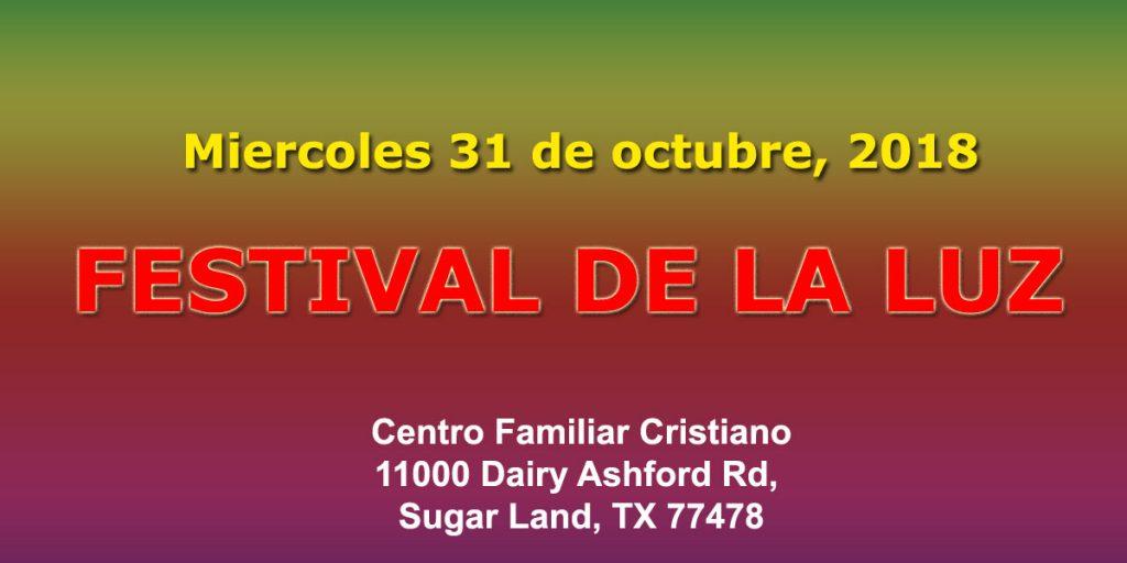 Festival de la Luz 2018