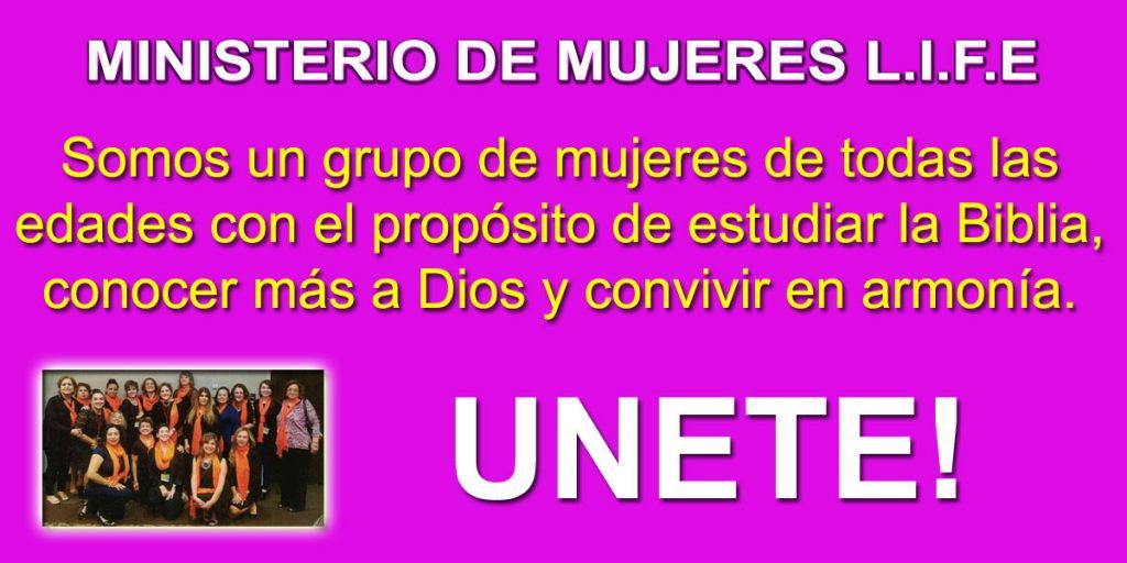 Ministerio de Mujeres LIFE Centro Familiar Cristiano Iglesia Verdad en Amor